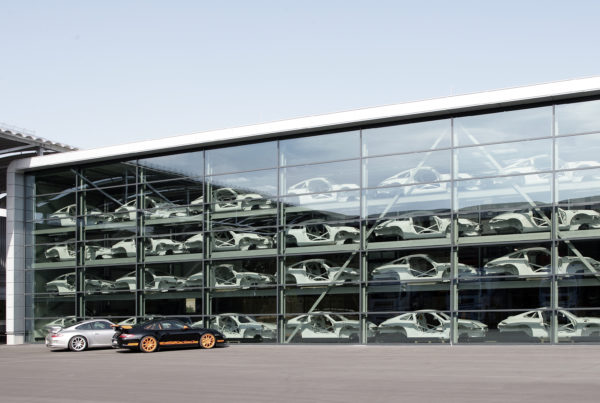 Porsche Entwicklungszentrum Weissach Rennsportabteilung 01
