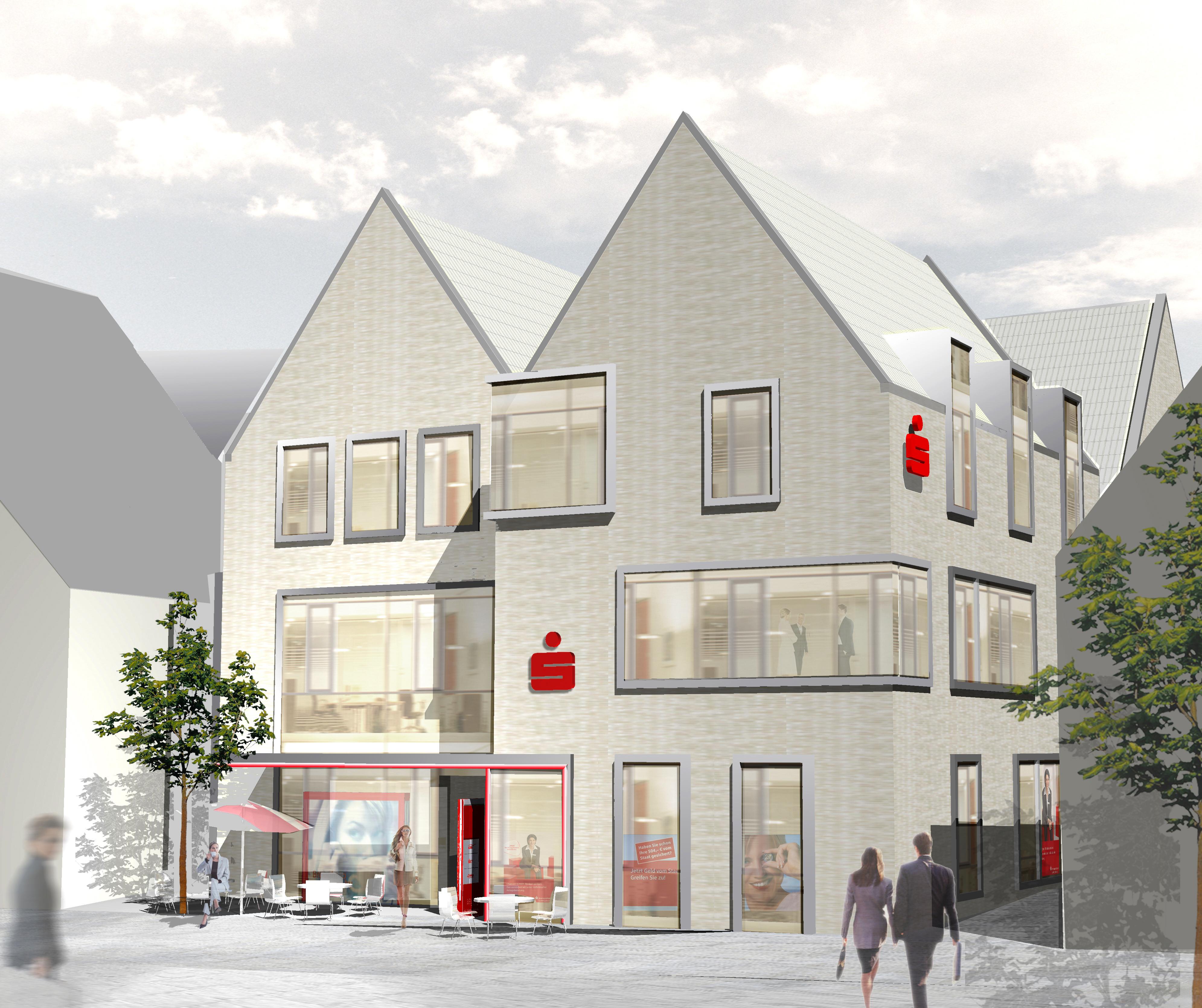 Neubau in historischem Altstadtkern Vaihingen-Enz